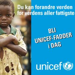 Bli Unicef-fadder - Fadderbarn.info